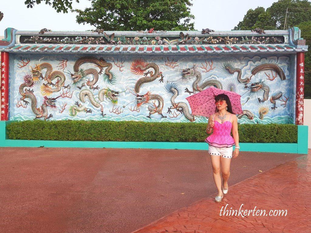 Haw Par Villa Dragon Wall