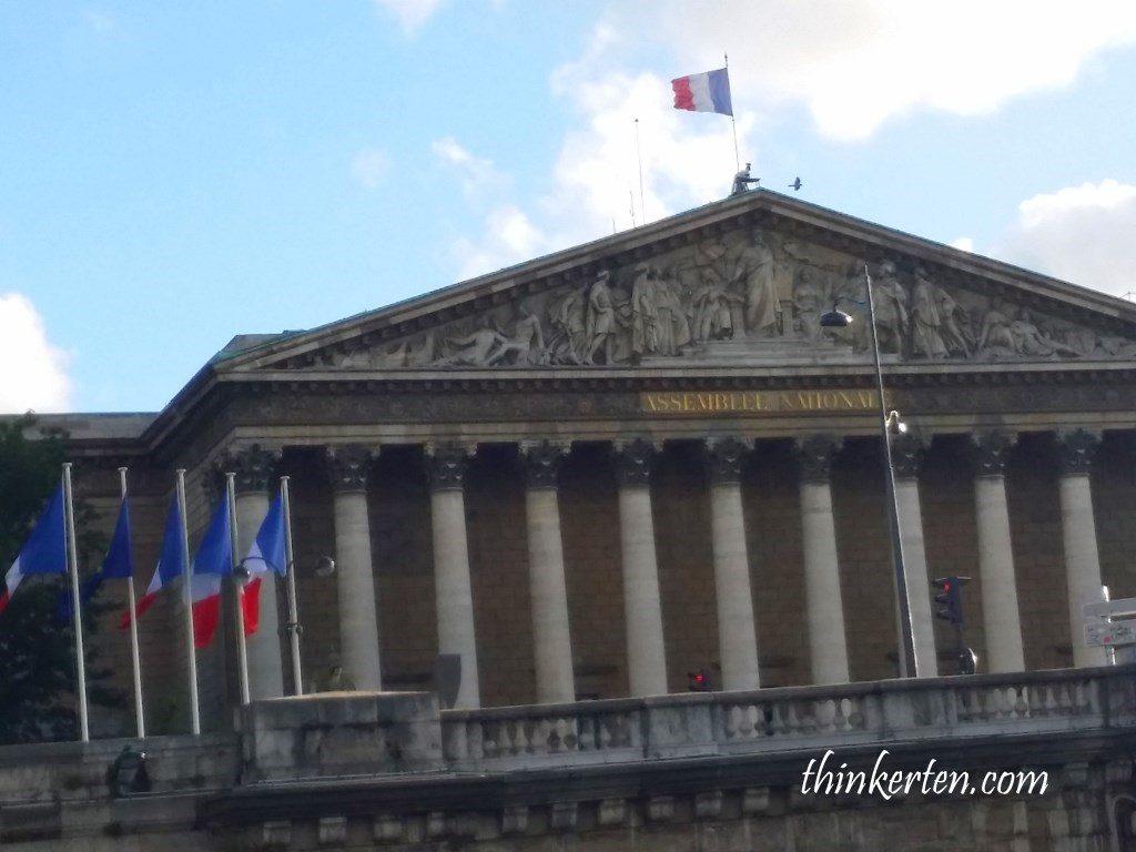 Palais Bourbon - Parliament House