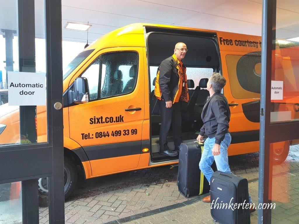 Car rental Sixt England