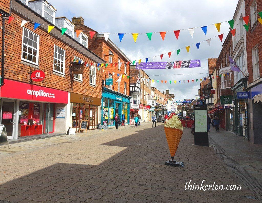 Salisbury Town in England