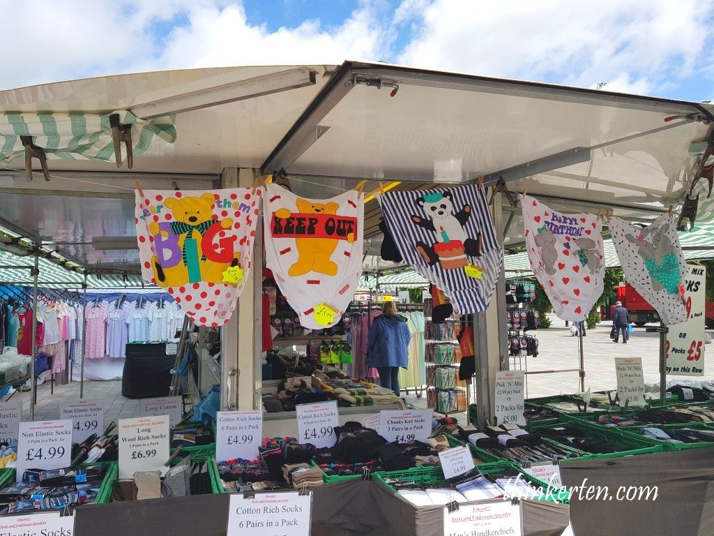 Salisbury Market in England