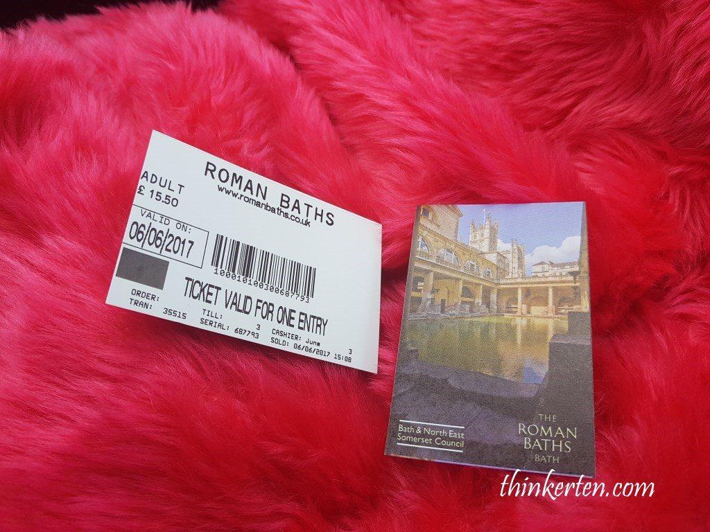 Roman Bath Museum Ticket