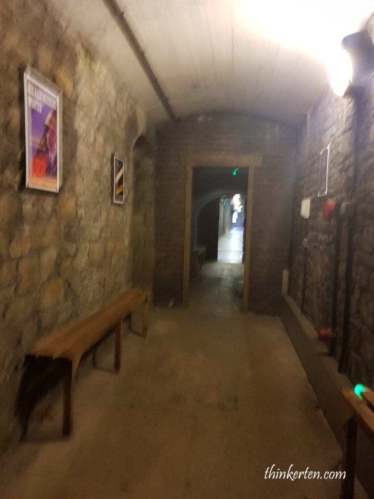 Tunnel Shelter at Cardiff Castle