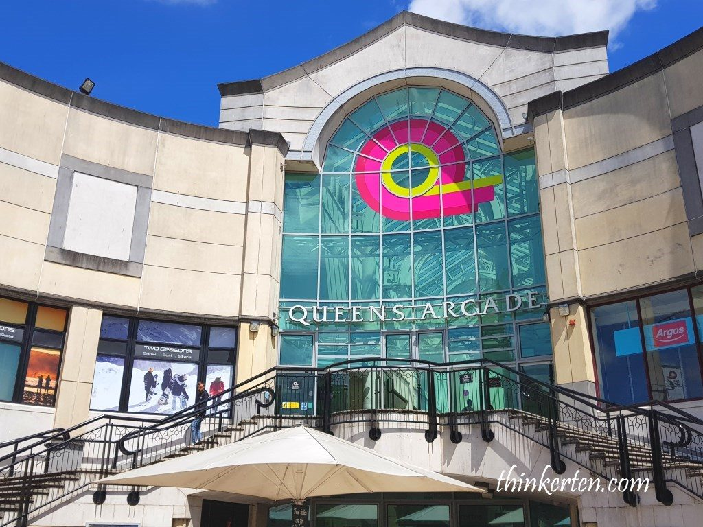 Queens Arcade at Cardiff City