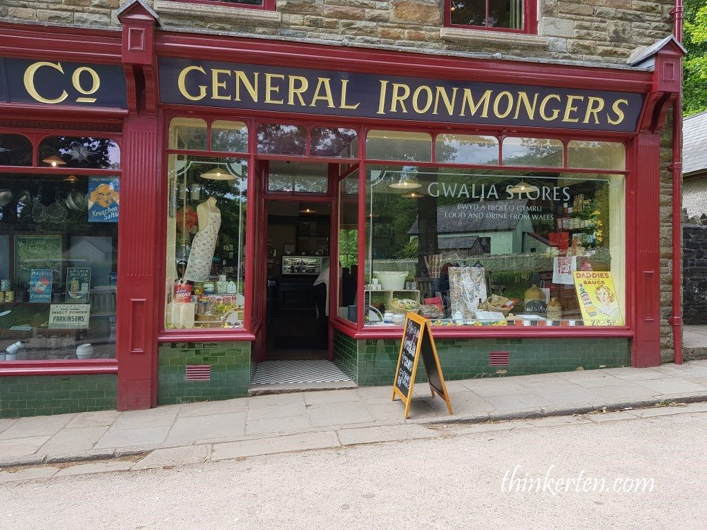 Gwalia Stores at St Fagans Museum