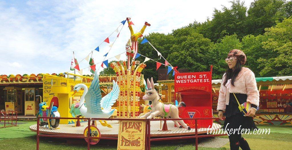 Fun Fair at St Fagans Museum