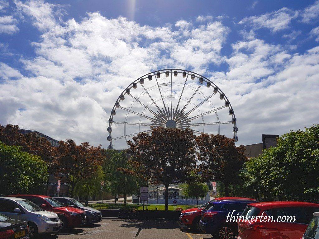 Liver Car Park near Beatles Museum