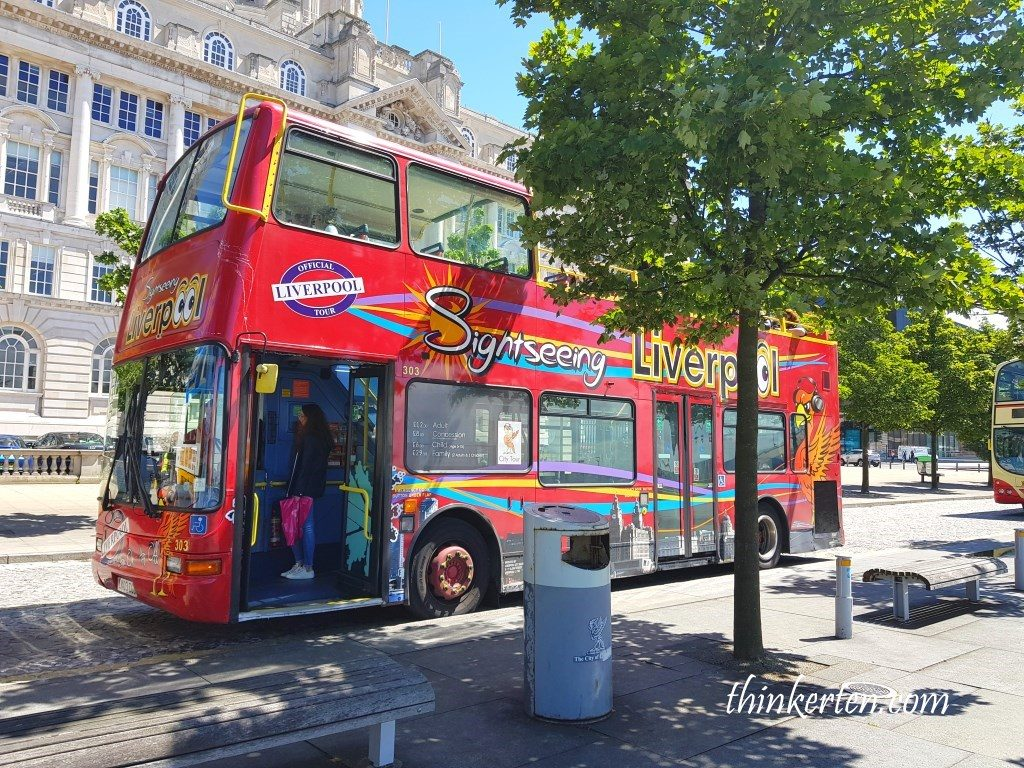Sightseeing Bus in Liverpool