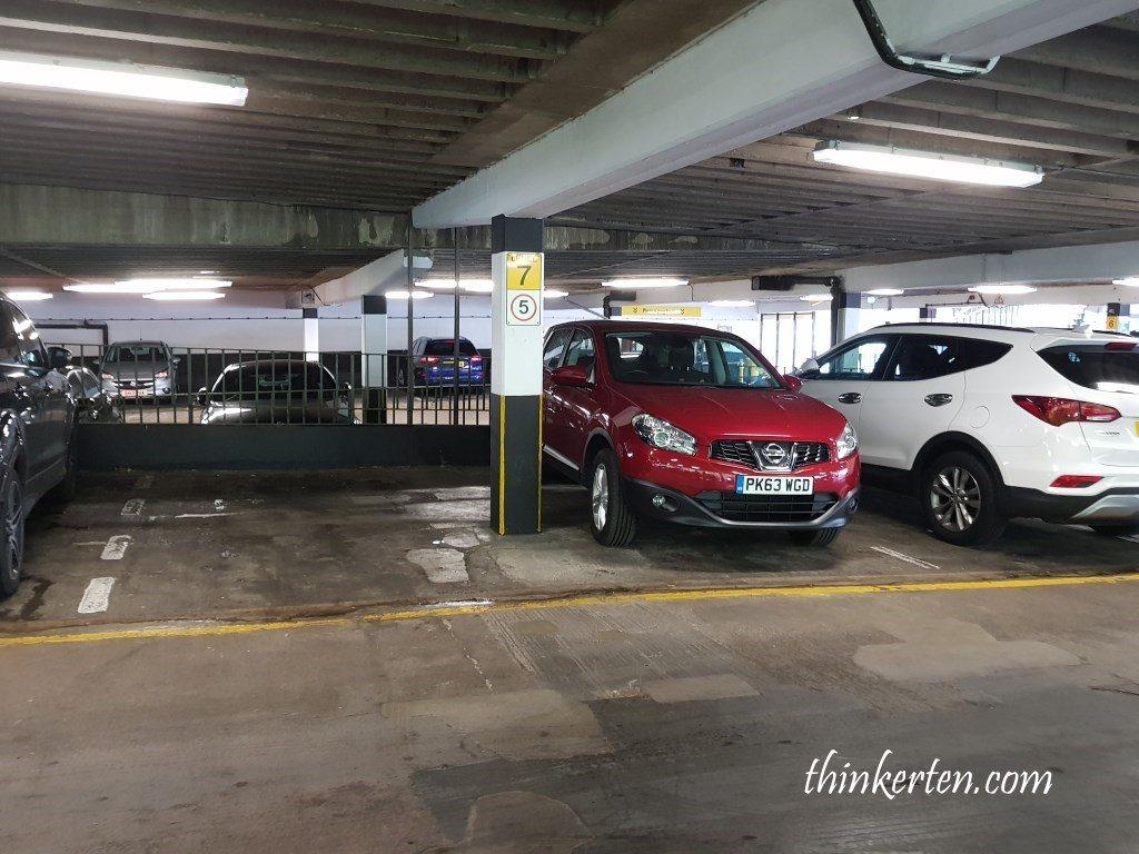 NCP car park Edinburgh Castle Terrace