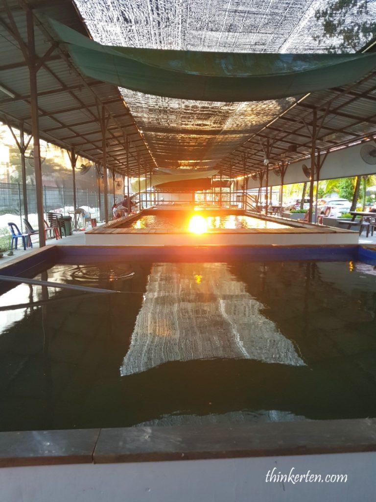 Prawning d'Kranji Farm Resort