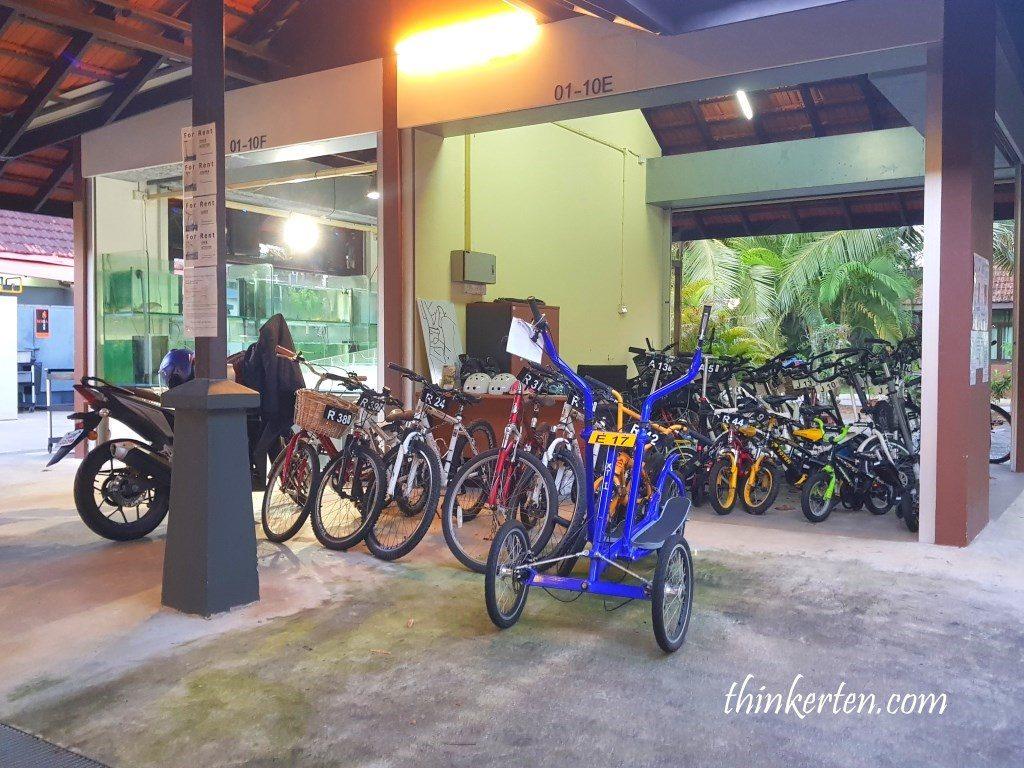 Bike Rental at d'Kranji Farm Resort