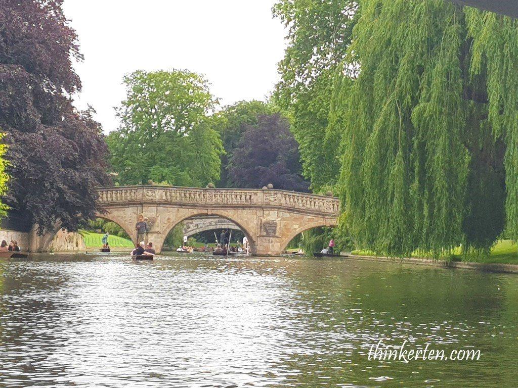 Punting in Cambridge UK