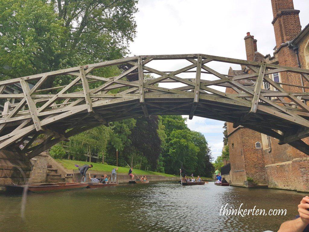 Mathematical Bridge at Queen's College