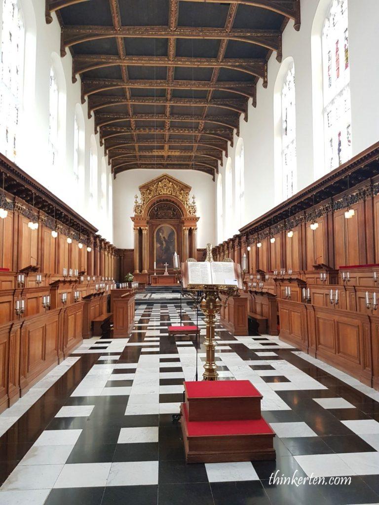 Trinity College in Cambridge University UK