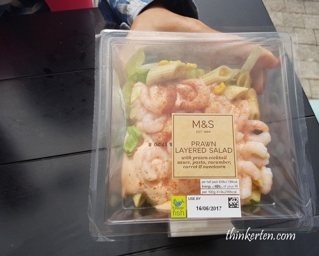 M&S Supermarket in UK Service Area