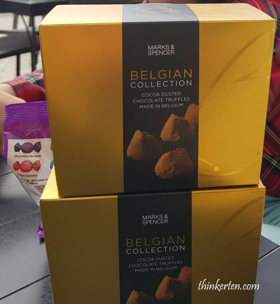 M&S Chocolate Truffles
