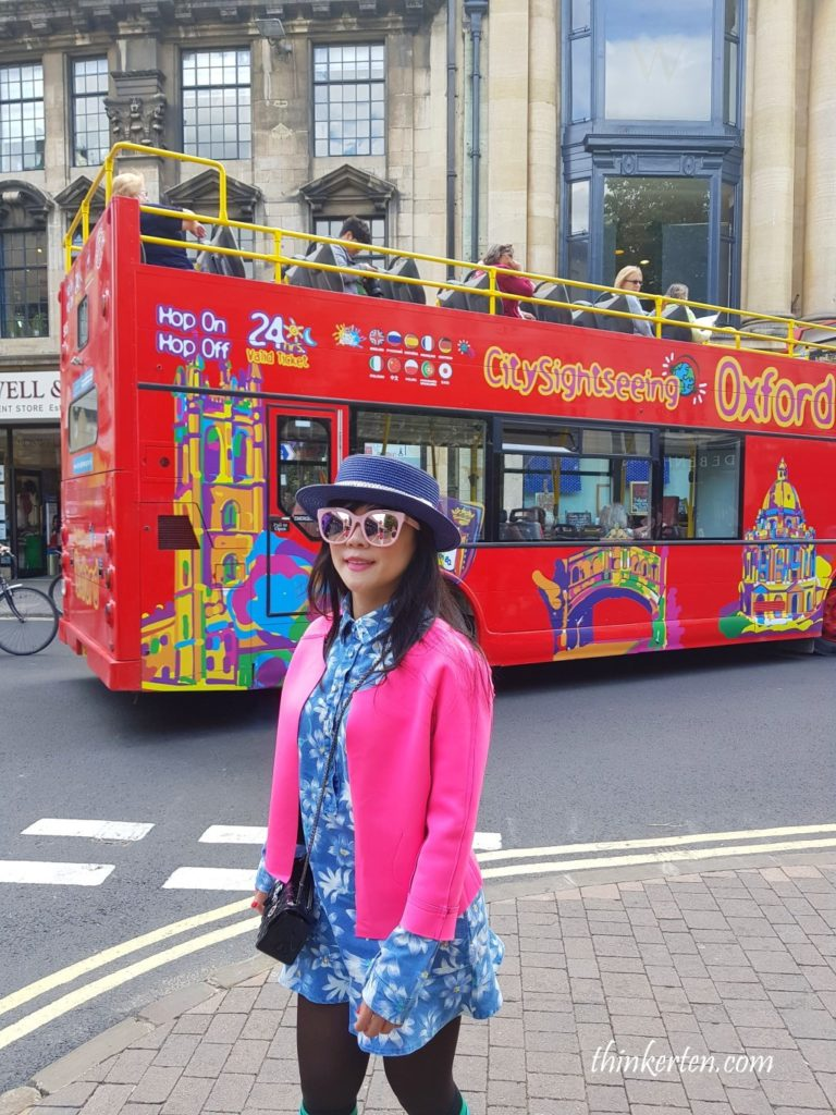Sightseeing Oxford Bus
