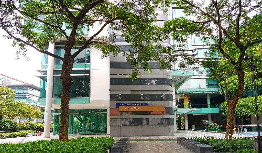 Li Ka Shing Library in Singapore