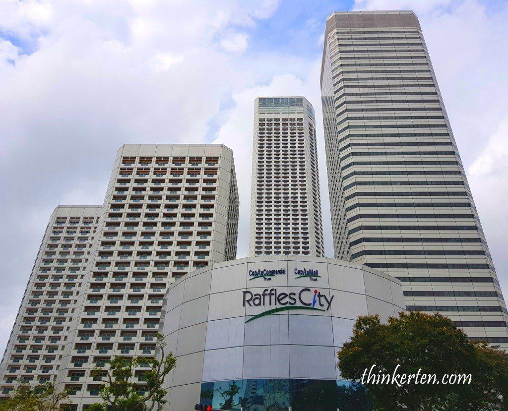 Raffles City Shopping Complex Singapore