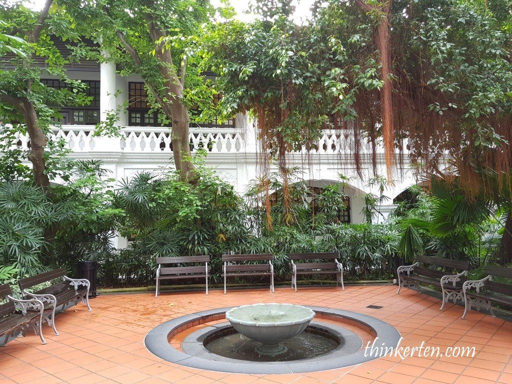 Courtyard at Raffles Hotel Singapore