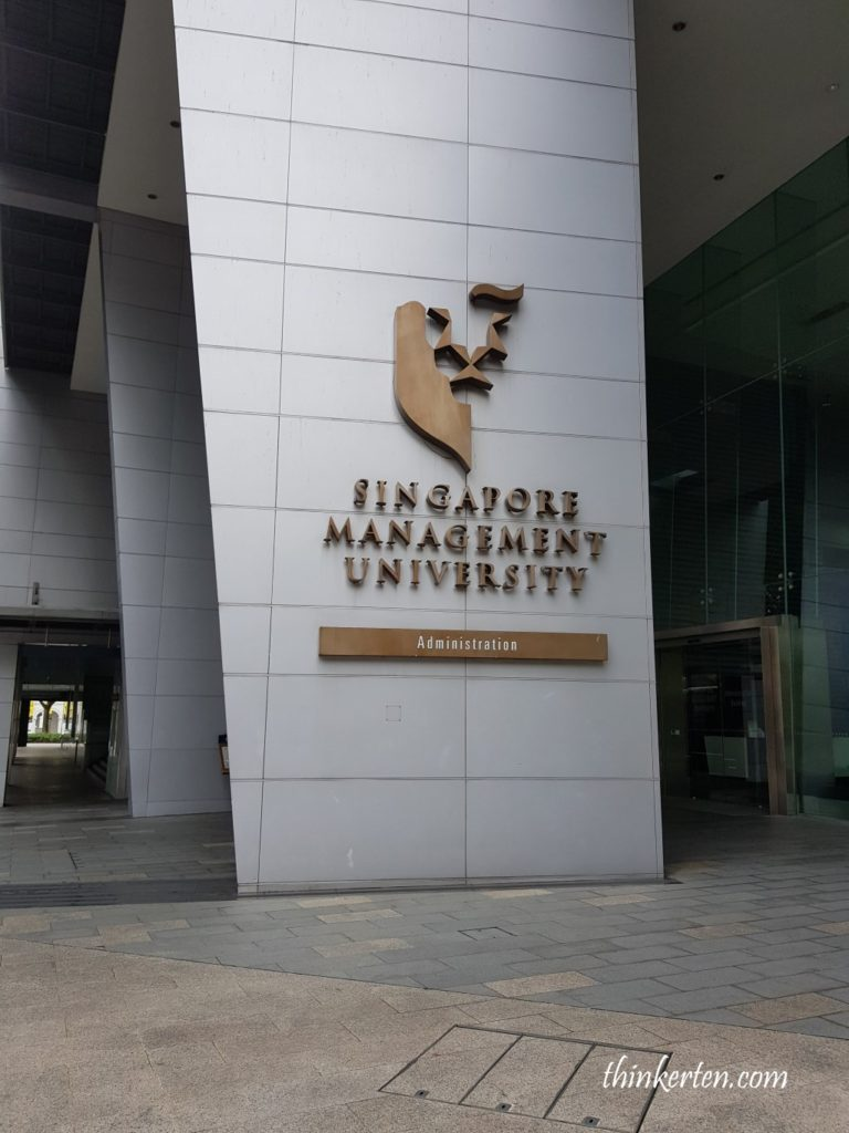 Singapore Management University in Bras Basah Campus