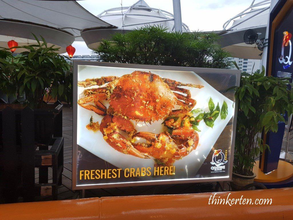 Quayside Seafood Restaurant Clarke Quay Singapore