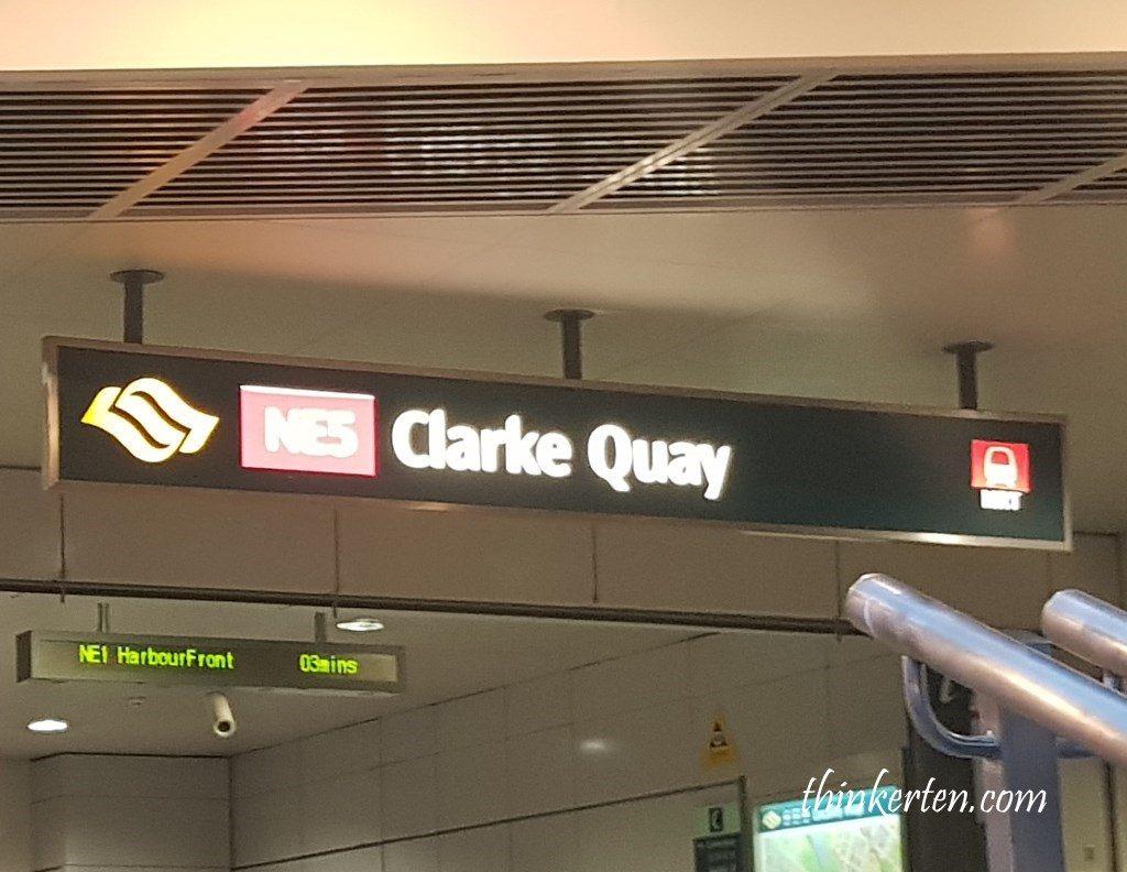 Clarke Quay MRT