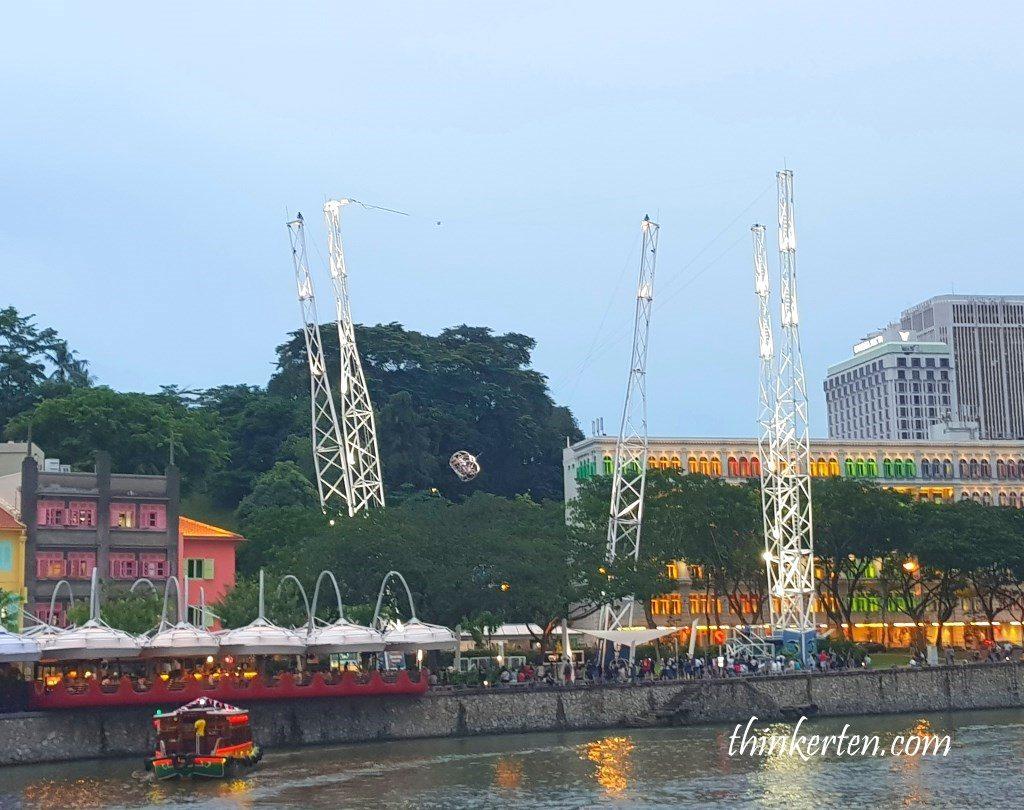 G Max Reverse Bungy Clarke Quay Singapore