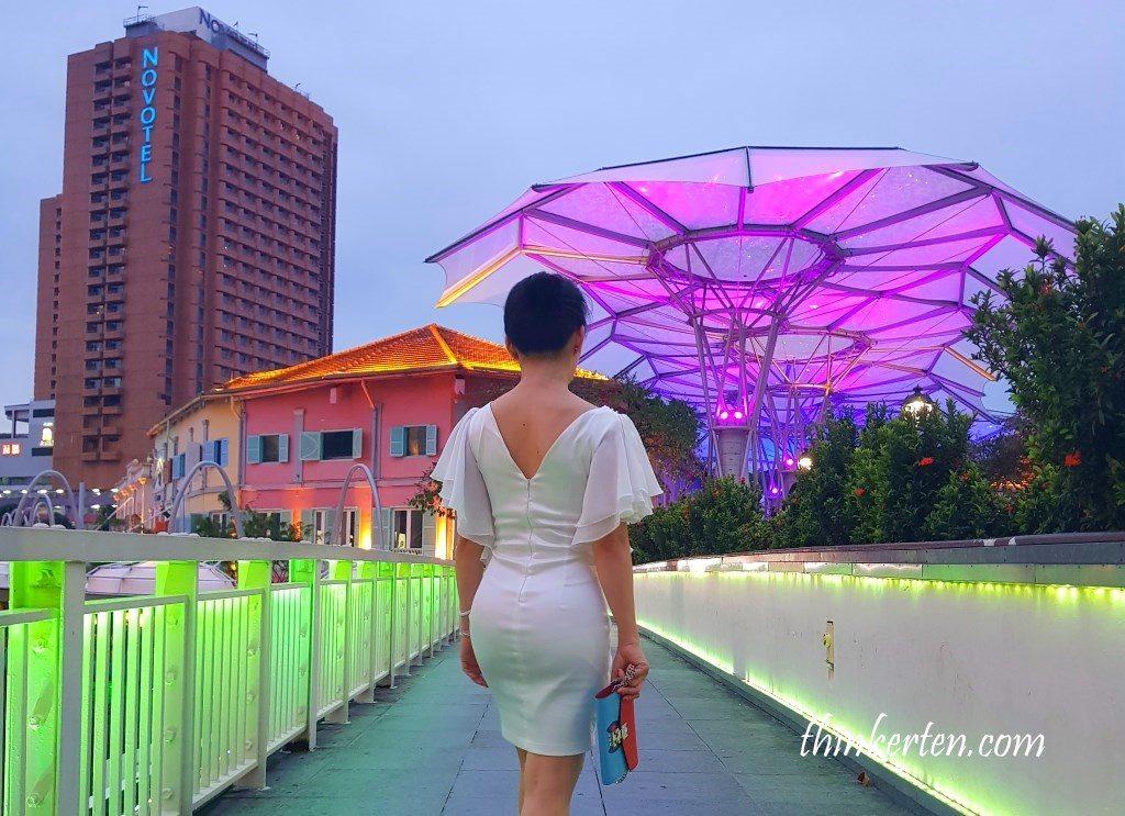 Night View at Clarke Quay Singapore
