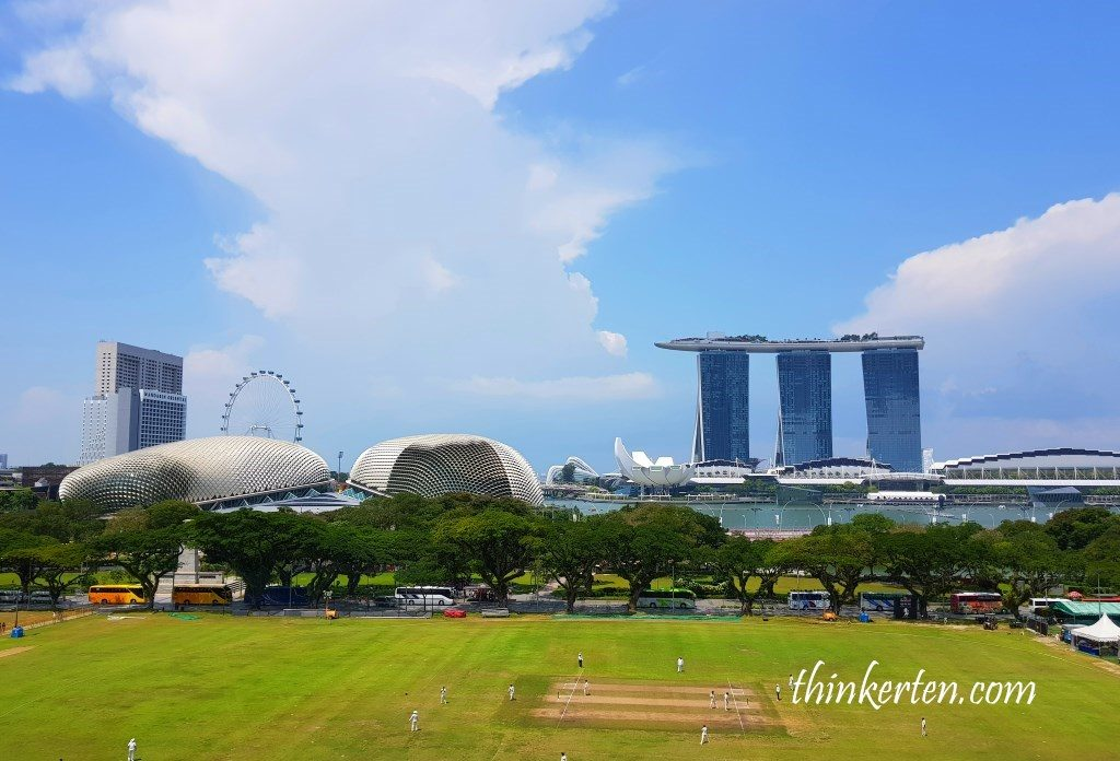 View from Ng Teng Fong Roof Garden Gallery