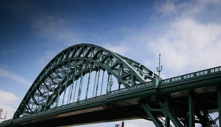Tyne Bridge Newcastle England