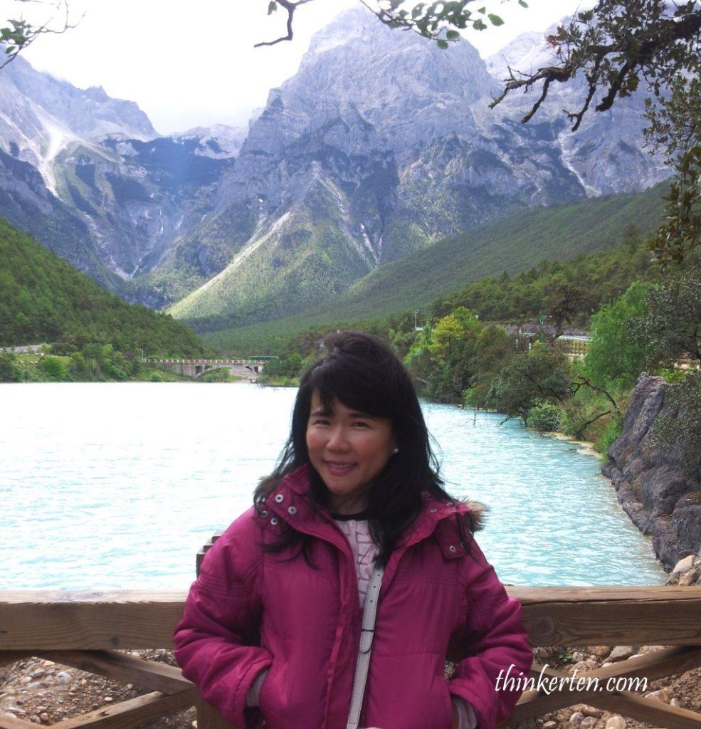 Jade Dragon Snow Mountain in Lijiang Yunnan
