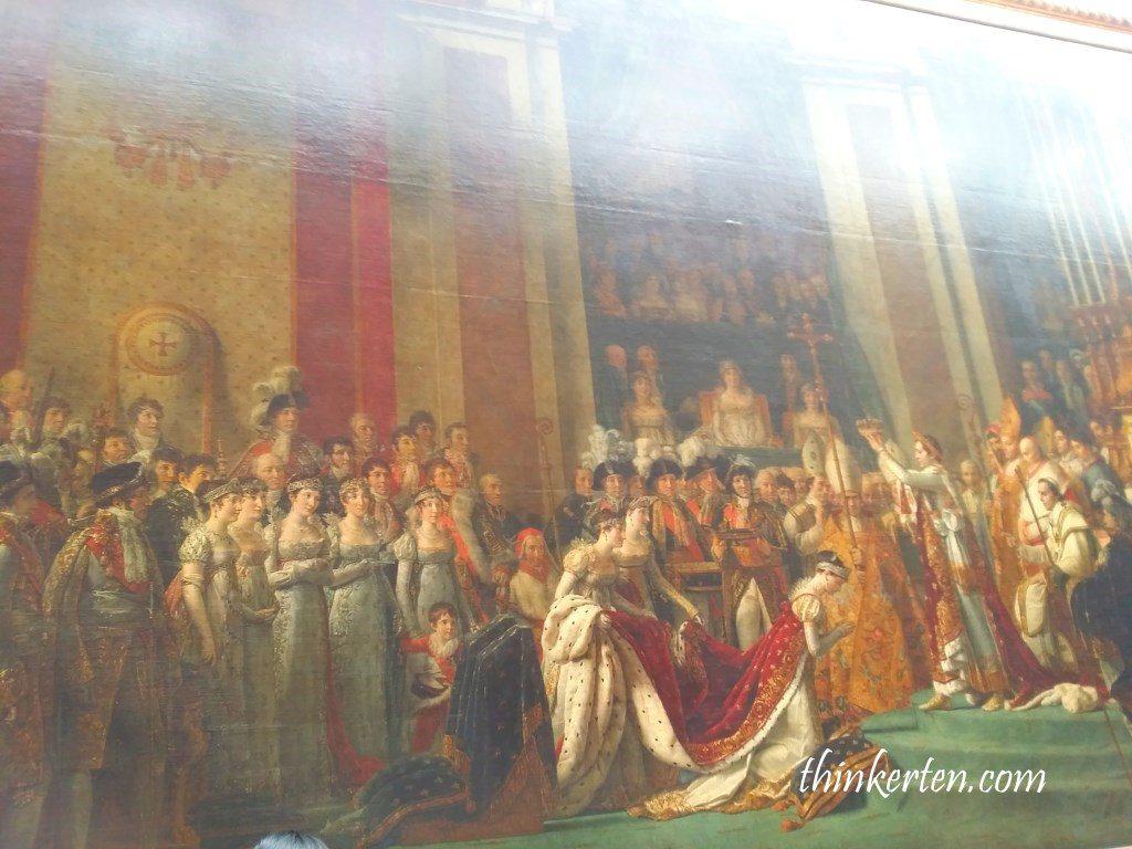 The Coronation of Napoléon by Jacques-Louis David