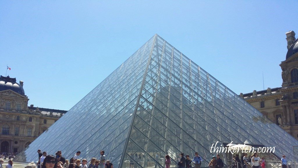 Glass Pyramid in The Lourve