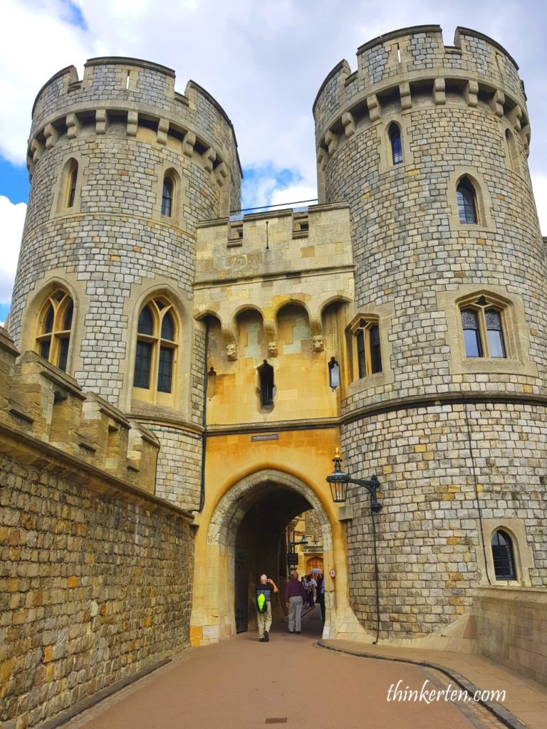 The Norman Gate in Windsor Castle