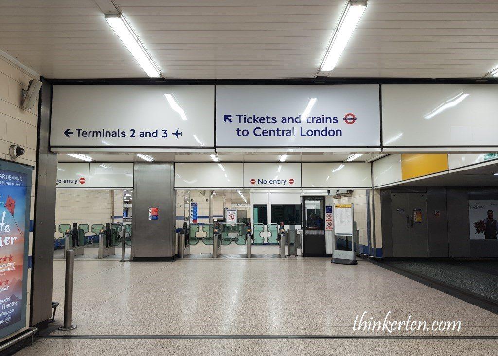 Heathrow Airport Train Station