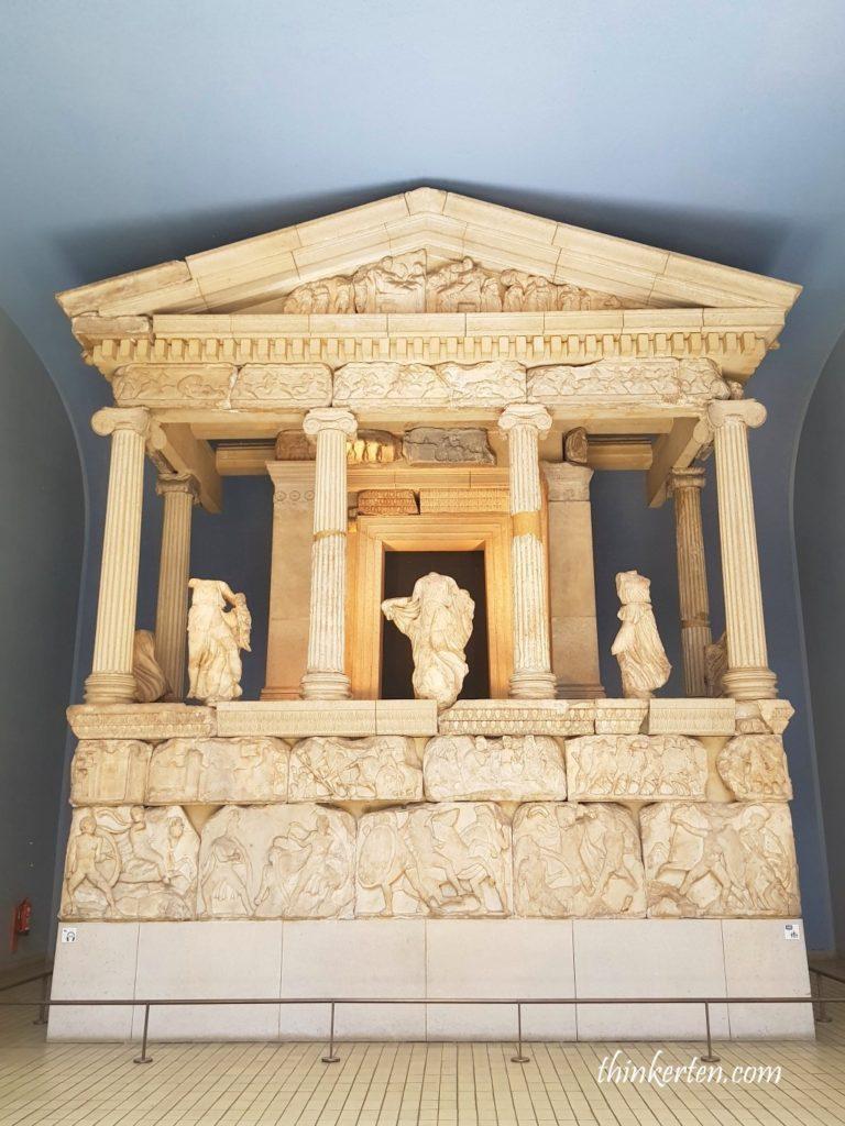 The Nereide monument British Museum