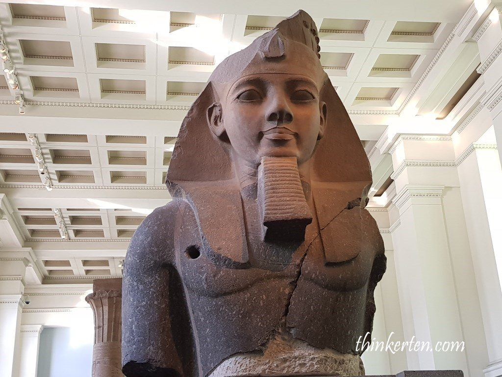 Bust of Ramesses -A mighty pharaoh and a poet's inspiration