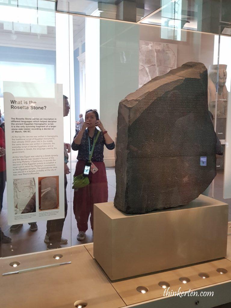 The Rosetta Stone - Highlight in British Museum