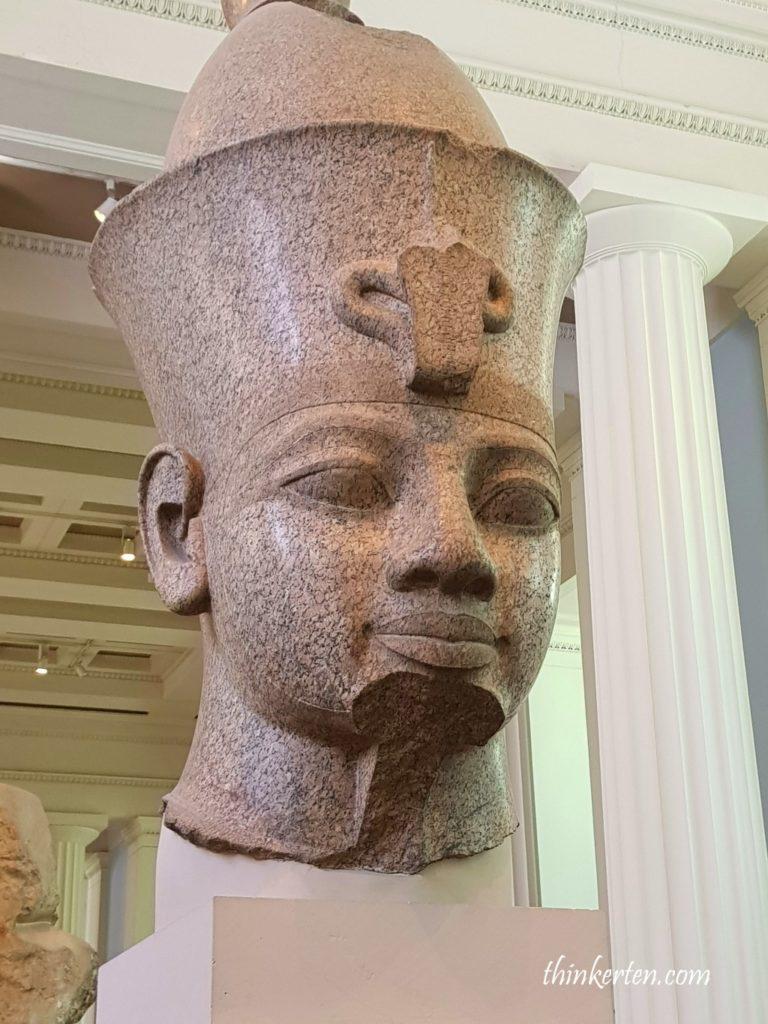 The head of Amenhotep III