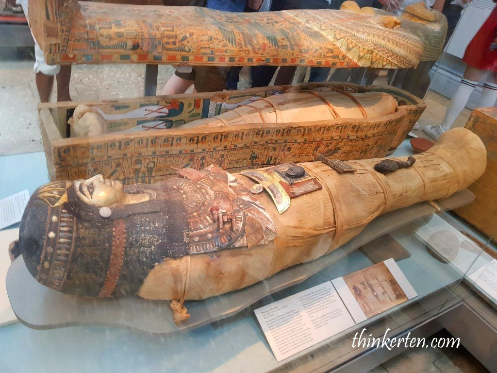 Egyptian death and afterlife: mummies