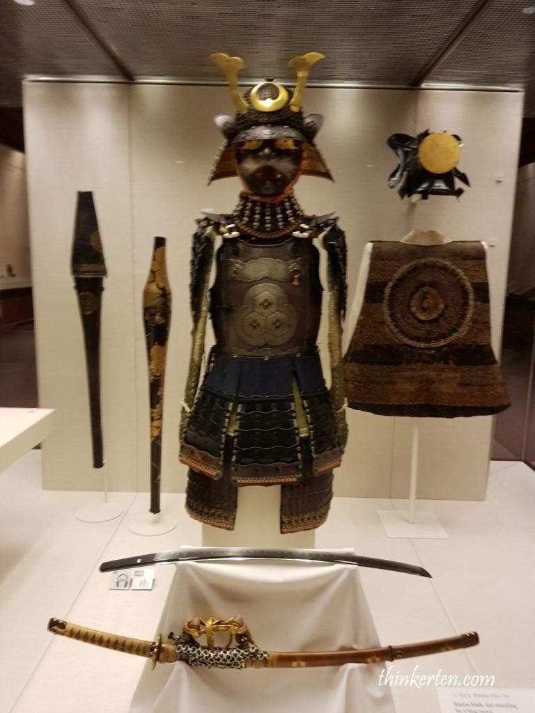 Samurai Armor and helmet (Japan – 1500-1800 AD)