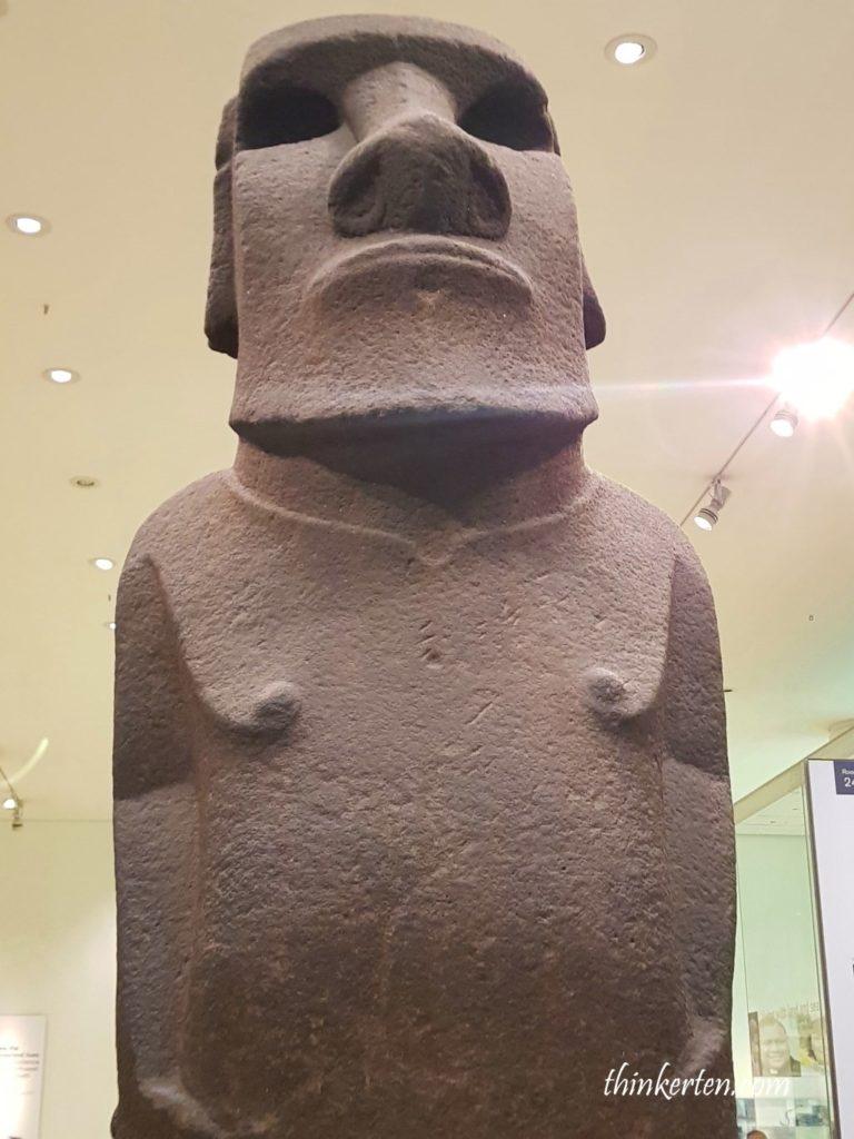 Hoa Hakananai'a in British Museum