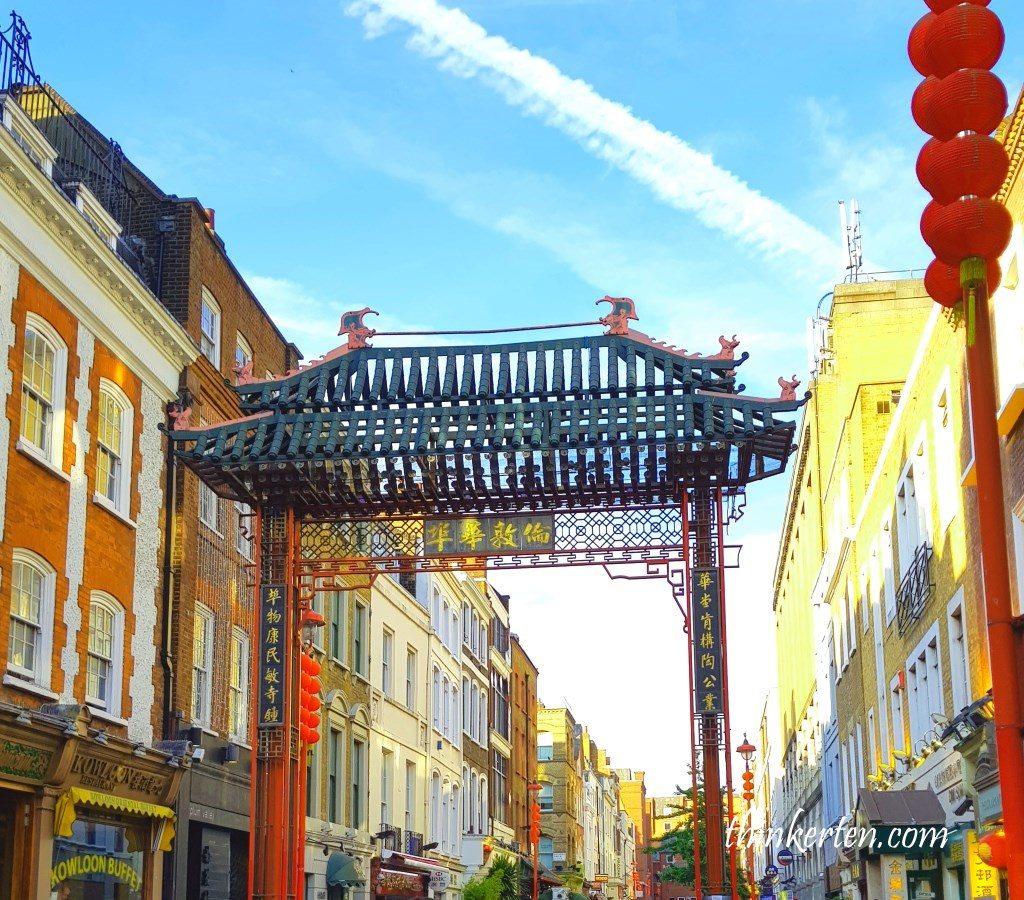 London China Town Gate