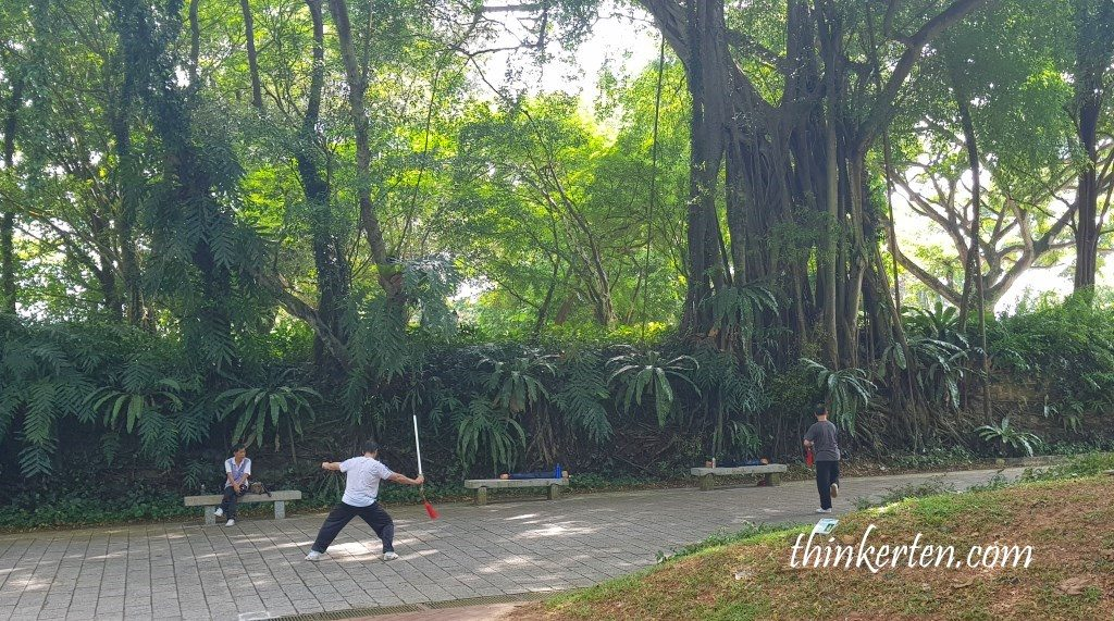 Fort Canning Singapore