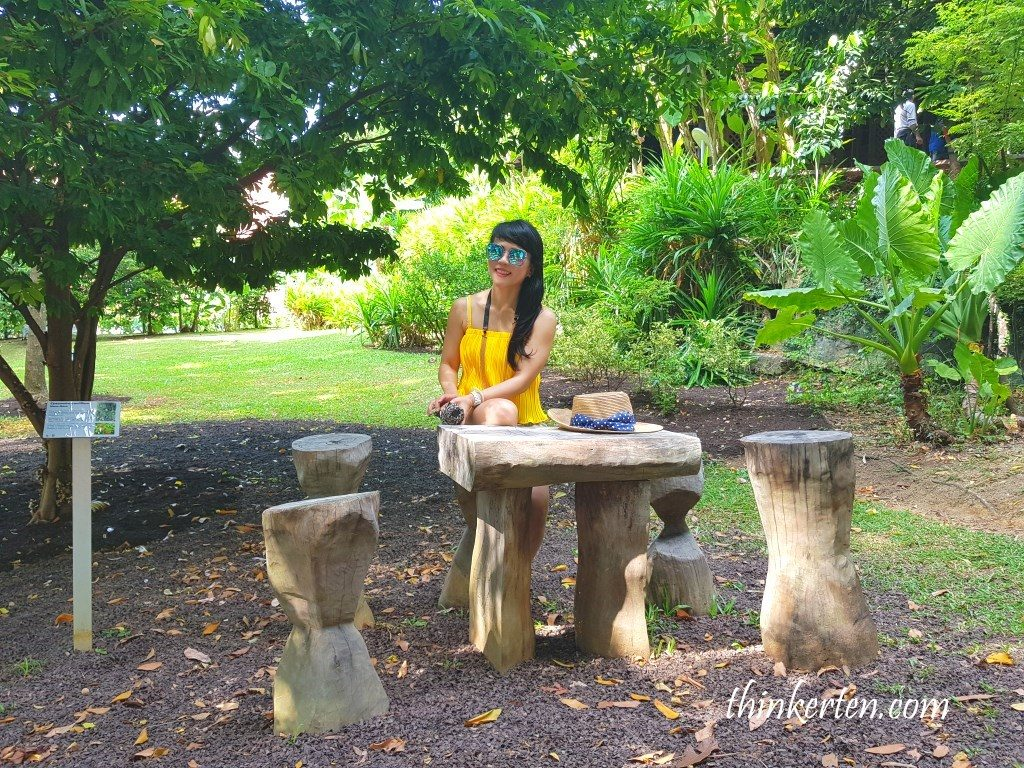 Spice Garden in Fort Canning Singapore