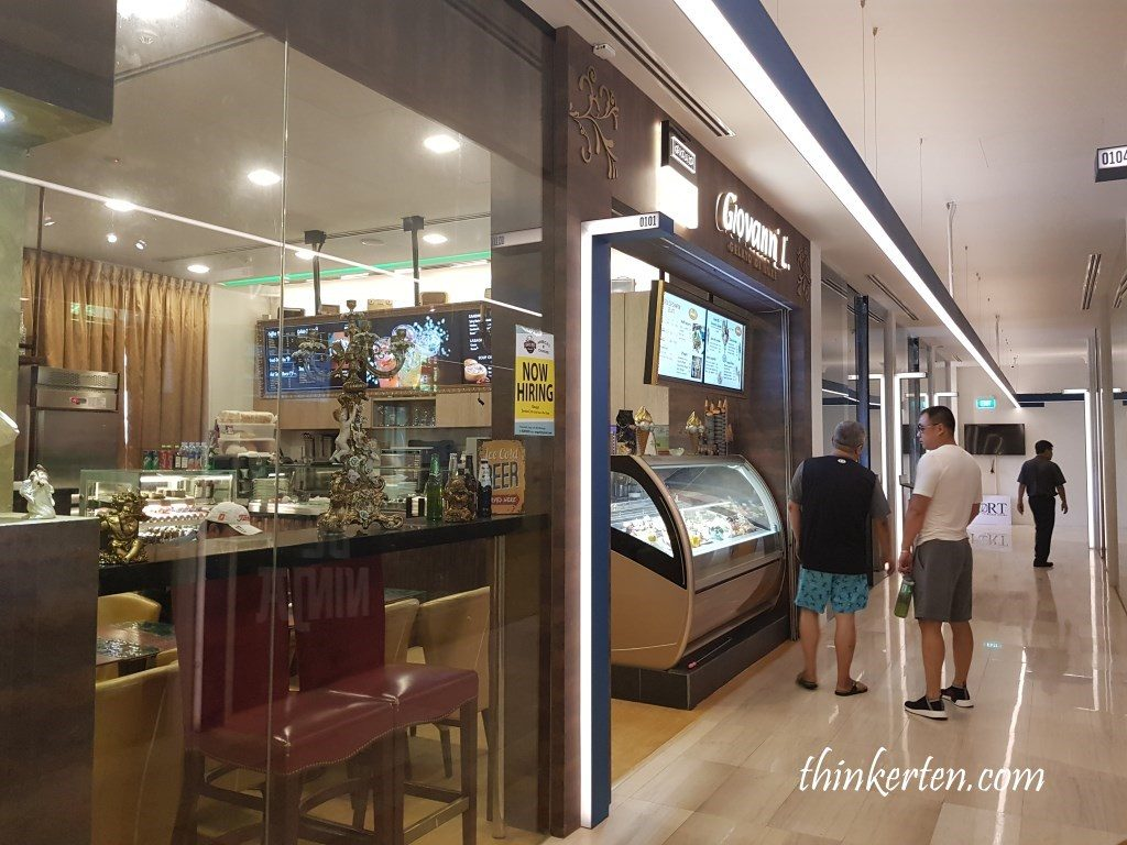 Cafe & Restaurants in Fort Canning Singapore
