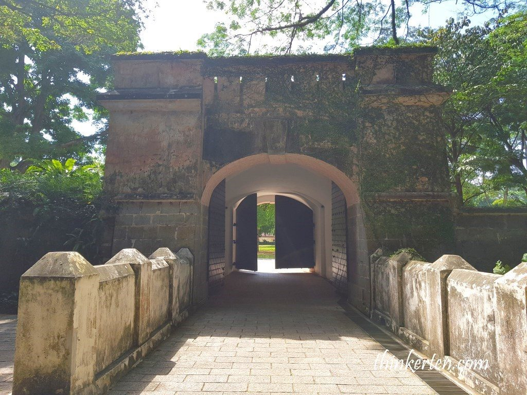 Gate of Fort Canning Singapore