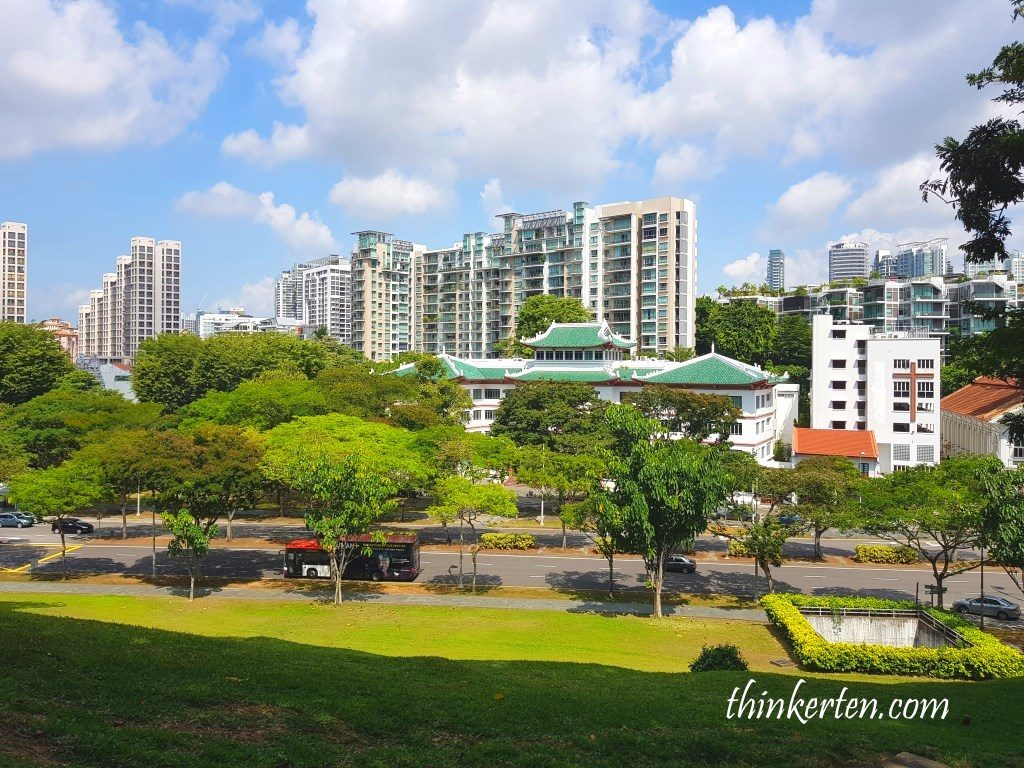 Fort Canning Singapore View from the Hill Top