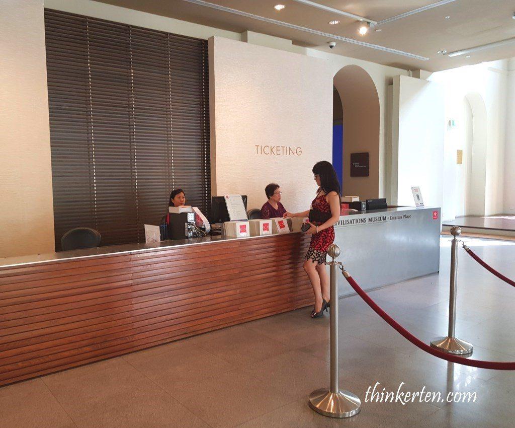 Admission for Singapore Asian Civilization Museum